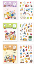 Load image into Gallery viewer, SUNNY CO. Daily Living Transparent Sticker Flakes Pack B