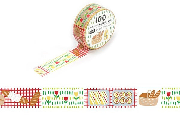 Funtape Pattern #72 Washi Tape Roll