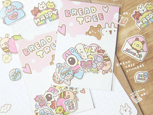 Bread Tree Sticker Flakes Version 1