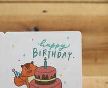 Load image into Gallery viewer, Mandie and Friends Happy Birthday Card