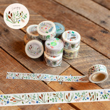 Load image into Gallery viewer, Soupy Gardens of Autumn Washi Tape Roll