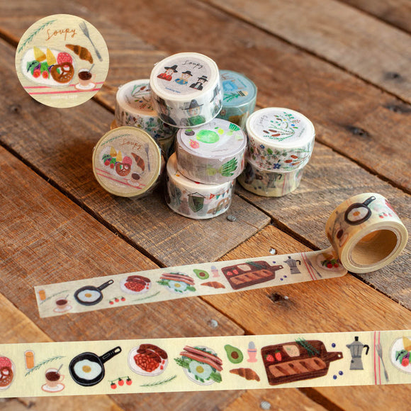 Soupy Delicious Meals Washi Tape Roll