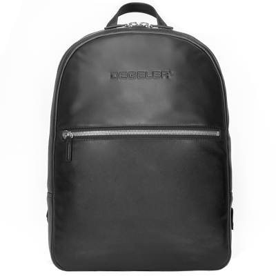 D2L Slim Leather Backpack