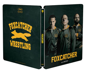 PRE-ORDER : FOXCATCHER LIMITED EDITION BLU-RAY STEELBOOK