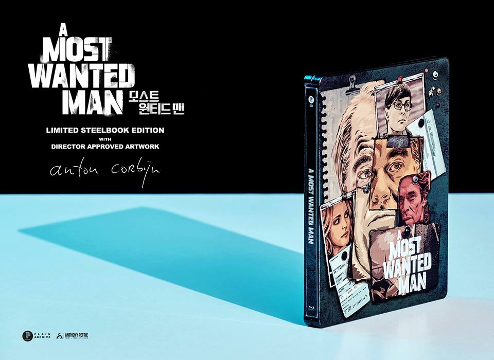PRE-ORDER: A Most Wanted Man Blu-ray Steelbook