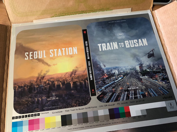 Train To Busan / Seoul Station Blu-ray Steelbook