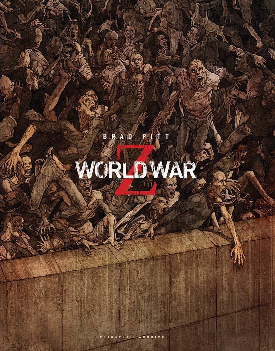 World War Z Exclusive Steelbook Deluxe Edition