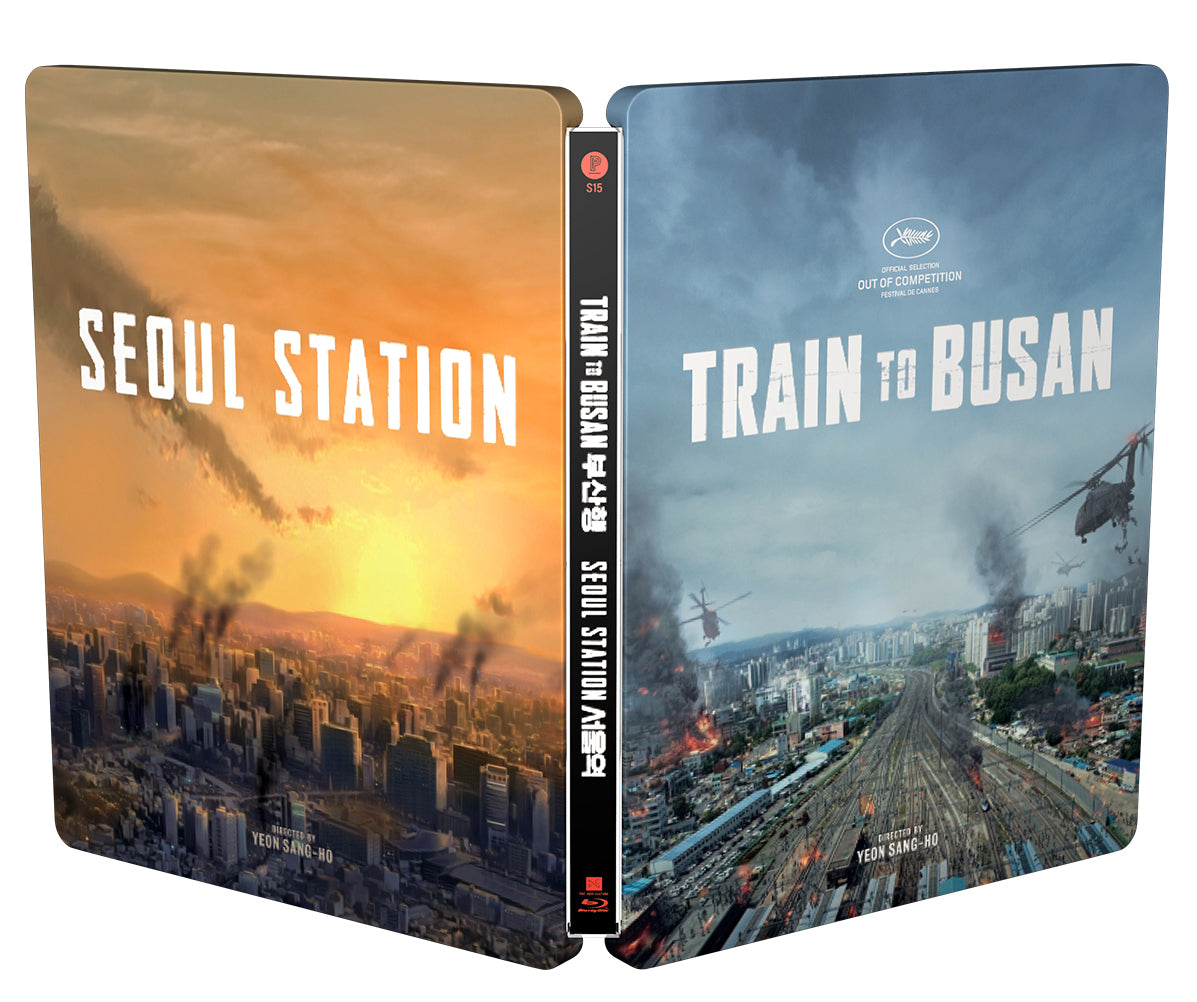 PRE-ORDER: Train to Busan × Seoul Station Blu-ray Steelbook
