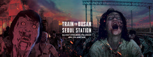 TRAIN TO BUSAN + SEOUL STATION STEELBOOK