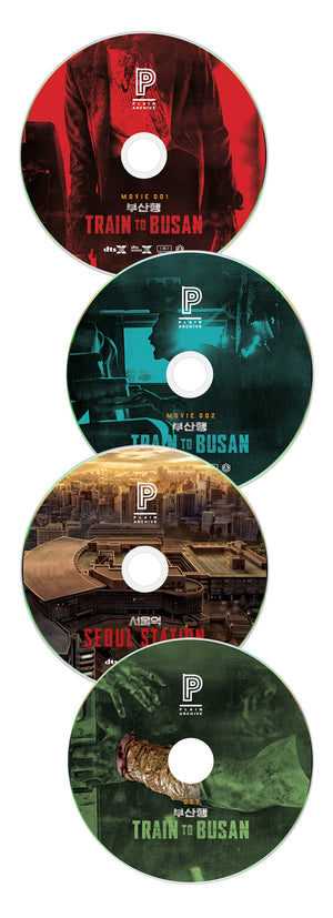 Train to Busan × Seoul Station Steelbook: Full Slip (Type A)