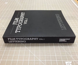 Design Book: FILM TYPOGRAPHY vol.1