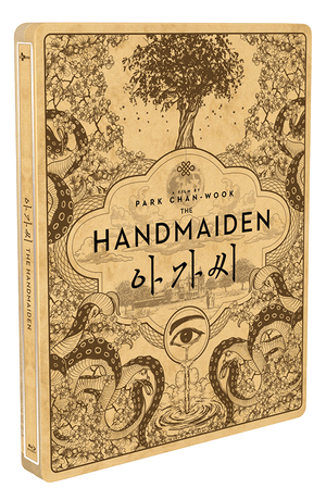 THE HANDMAIDEN: Steelbook with 1/4 Slip