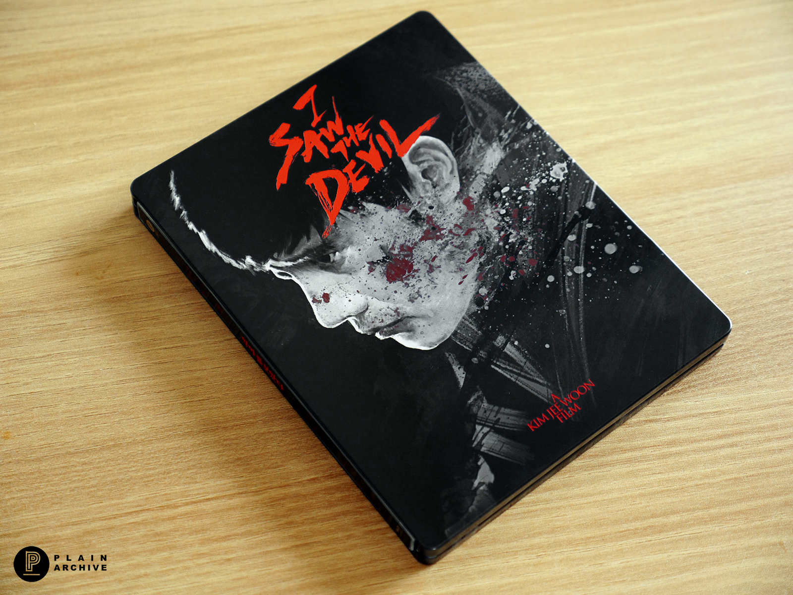 I SAW THE DEVIL Steelbook with 1/4 slip cover (Director's Signature Edition)