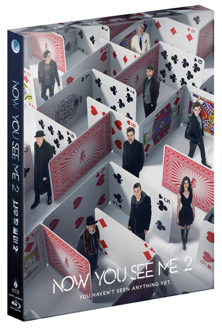 NOW YOU SEE ME 2: Full Slip with Lenticular