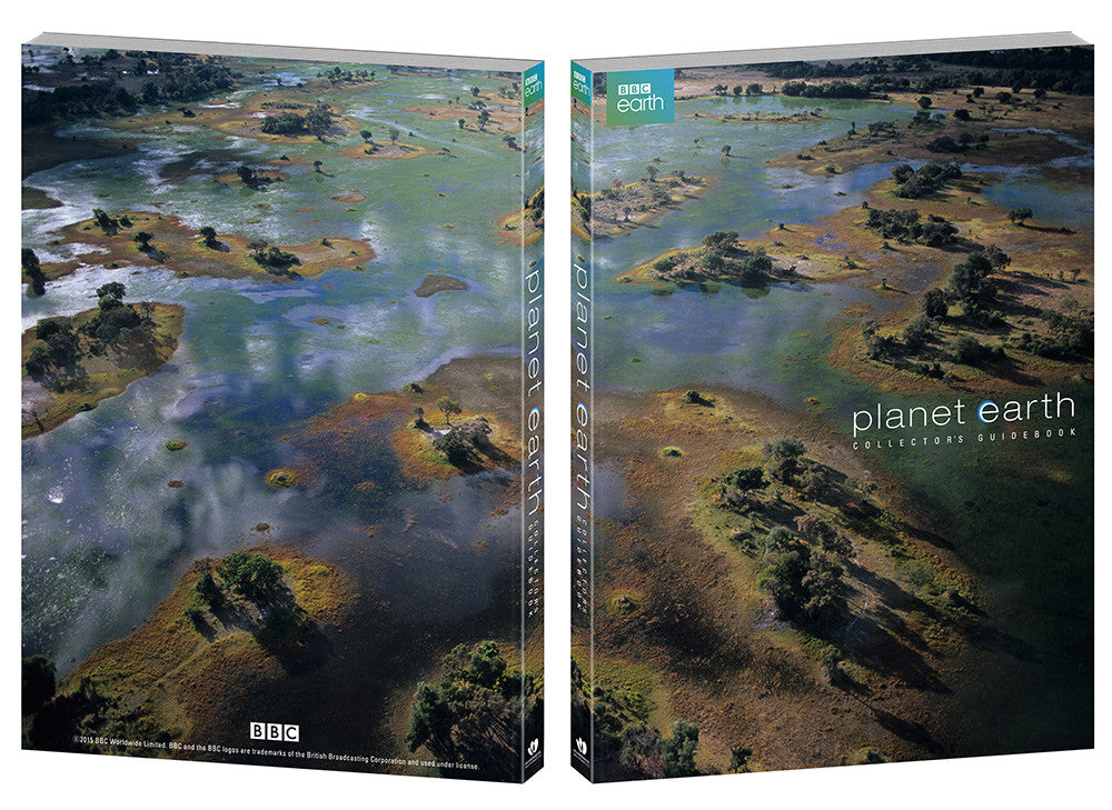 PLANET EARTH : UCE Steelbook with Holofoil Coated Full Slip (6Discs & 100p Booklet)