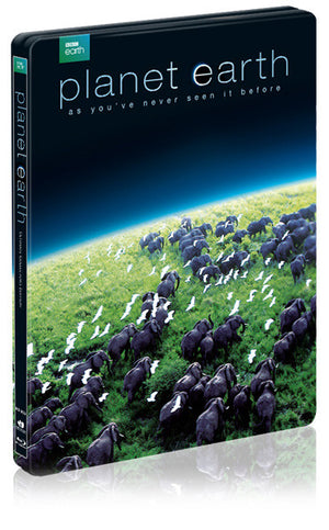 PLANET EARTH : UCE Steelbook with Double Sided Lenticular Full Slip (6Discs)