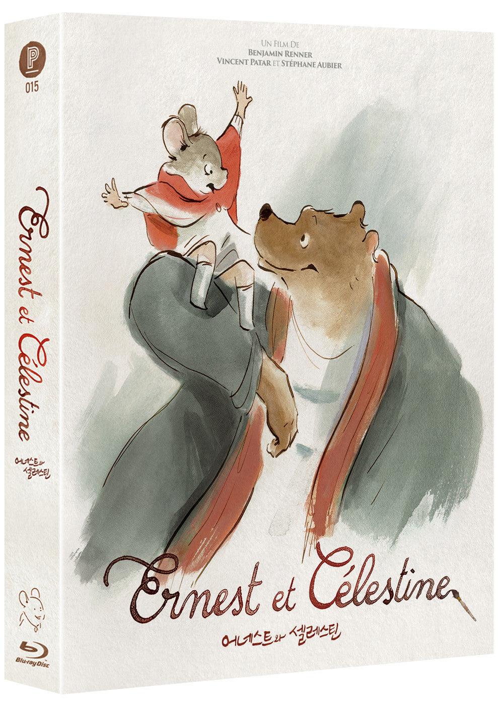 Ernest & Celestine (Design A) : LIMITED EDITION (PA015)