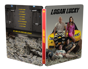 LOGAN LUCKY Blu-ray Steelbook: Full Slip (Type A)
