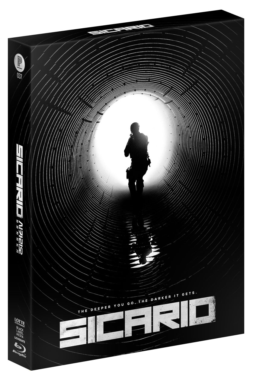 SICARIO Steelbook: Full Slip with Luminous Effect (Type A)