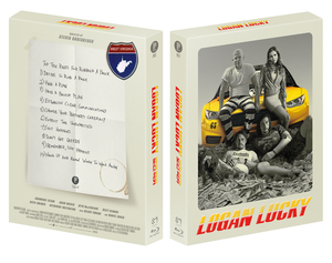 LOGAN LUCKY Blu-ray Steelbook: Dual Pack