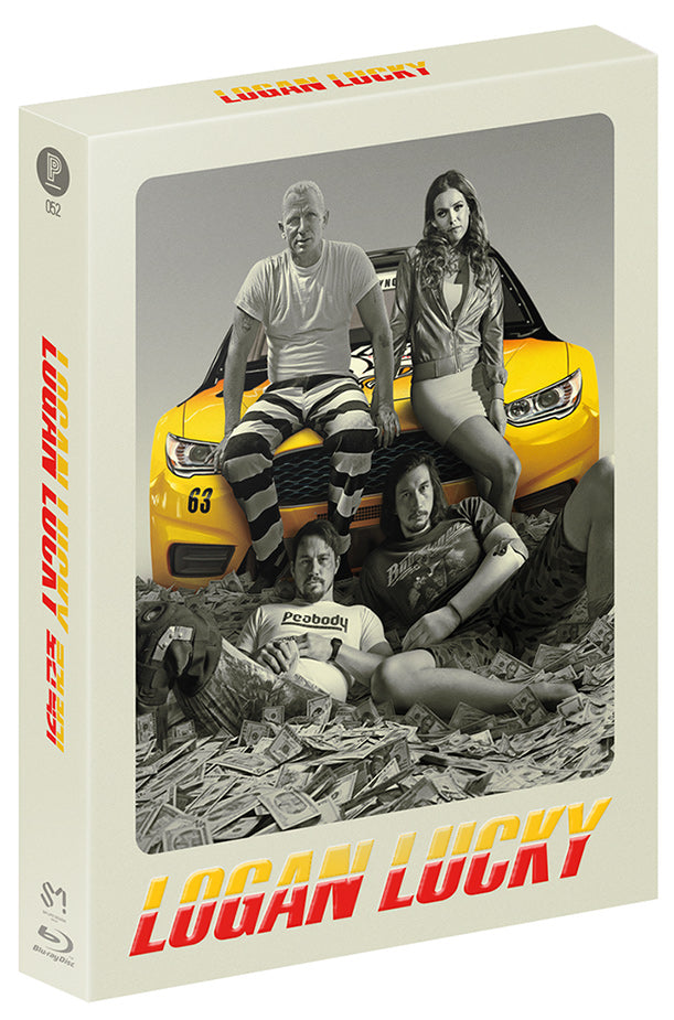LOGAN LUCKY Blu-ray Steelbook: Full Slip (Type B)