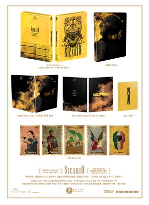 SICARIO Steelbook: Full Slip (Type C)