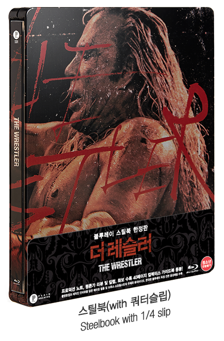 The Wrestler : Standard Steebook Edition (Non-numbered)