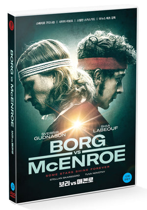 Borg vs McEnroe DVD