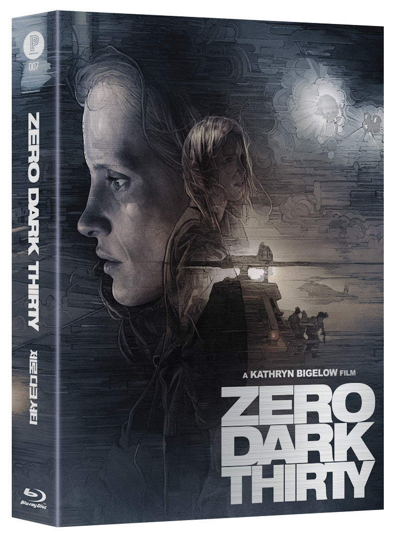 ZERO DARK THIRTY Steelbook with PAPER full slip