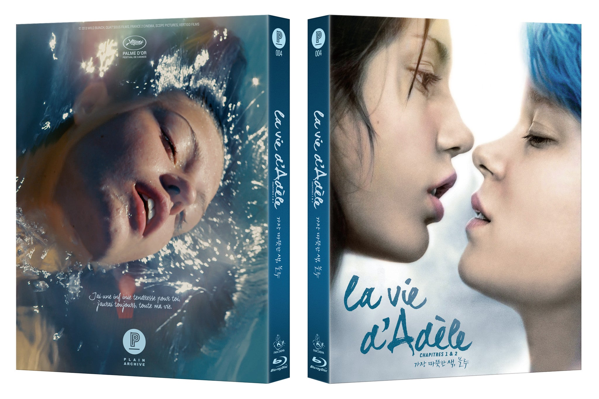 Blue Is the Warmest Colour : 2nd edition & Limited Edition (PA004 ...