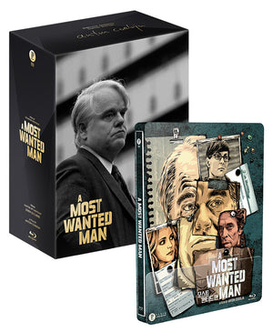 A Most Wanted Man Steelbook: Quadruple Pack (Triple Pack+1/4 Slip)