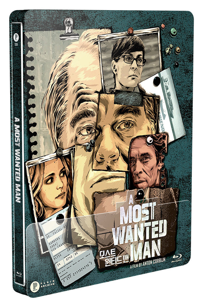 A Most Wanted Man Steelbook: 1/4 Slip