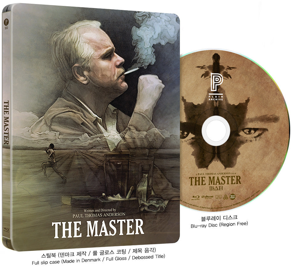 THE MASTER Steelbook with Lenticular Full Slip