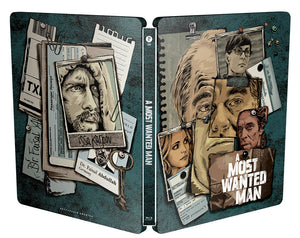 A Most Wanted Man Steelbook: Full Slip with lenticular (Type C)