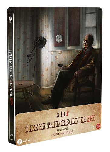 TINKER TAILOR SOLDIER SPY Steelbook : 1/4 Slip
