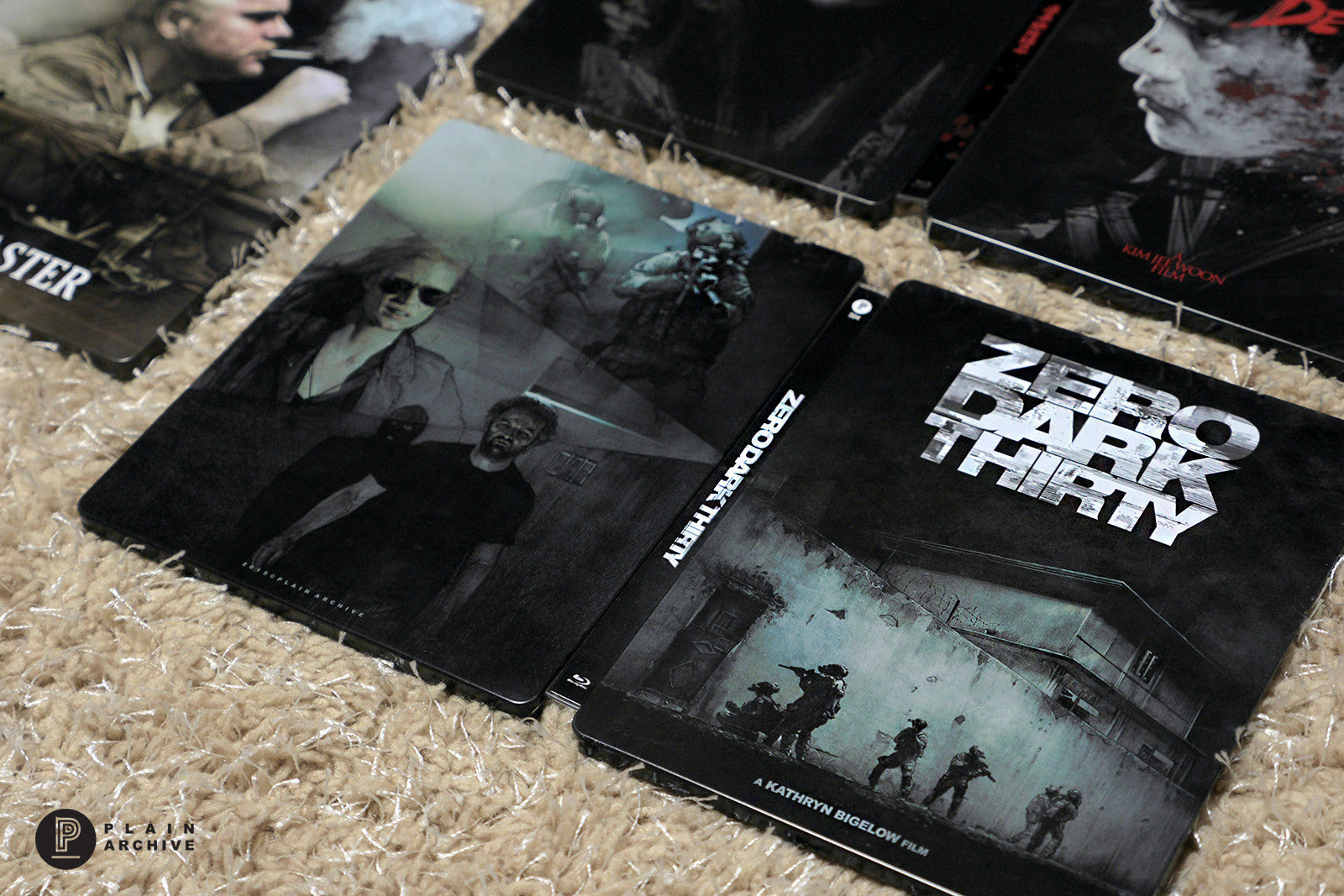 ZERO DARK THIRTY Steelbook with Lenticular-PET 1/4 slip