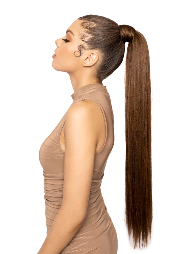 "Shayna - 26"" Straight - Medium Brown Combo"