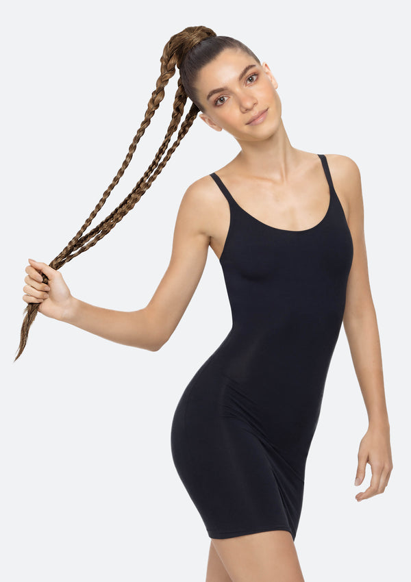 Crimpy Ponytail On Band - The Lily - Golden Brown