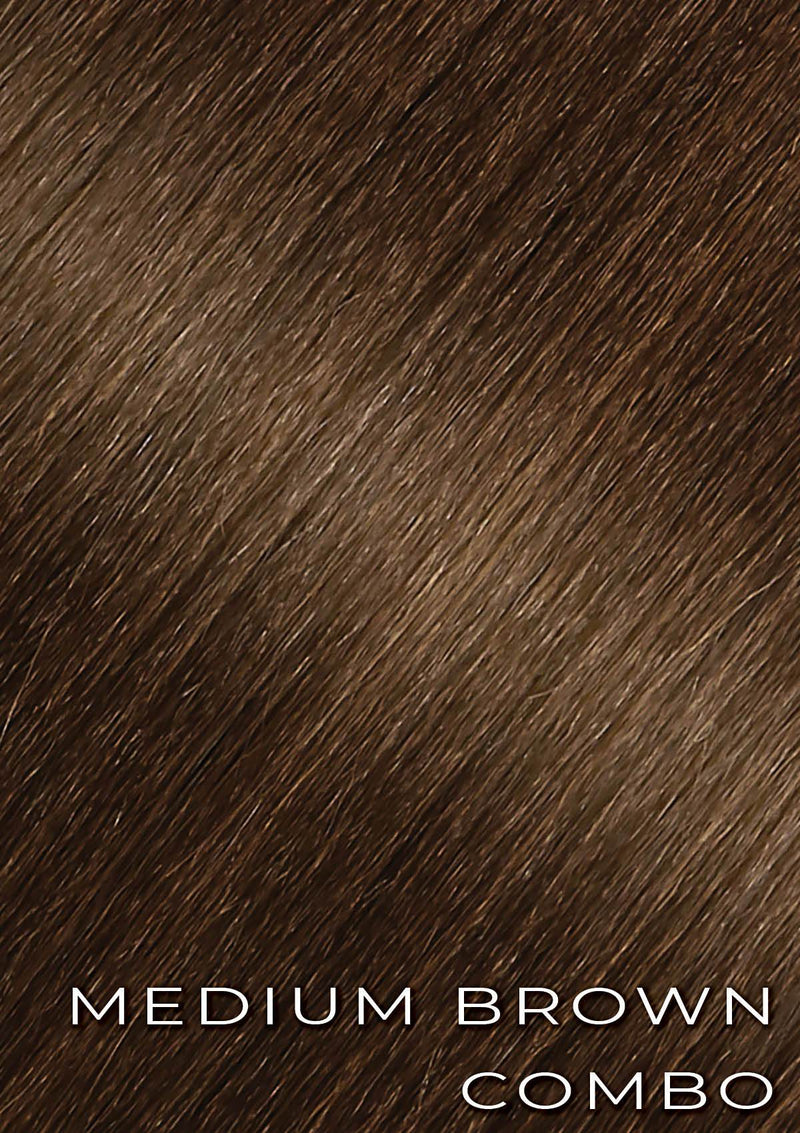 "Shayna - 22"" Straight - Medium Brown Combo"