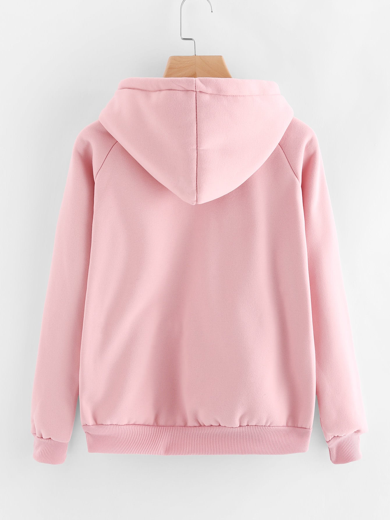 Kangaroo Pocket Drawstring Hoodie - Tiny Town Essentials