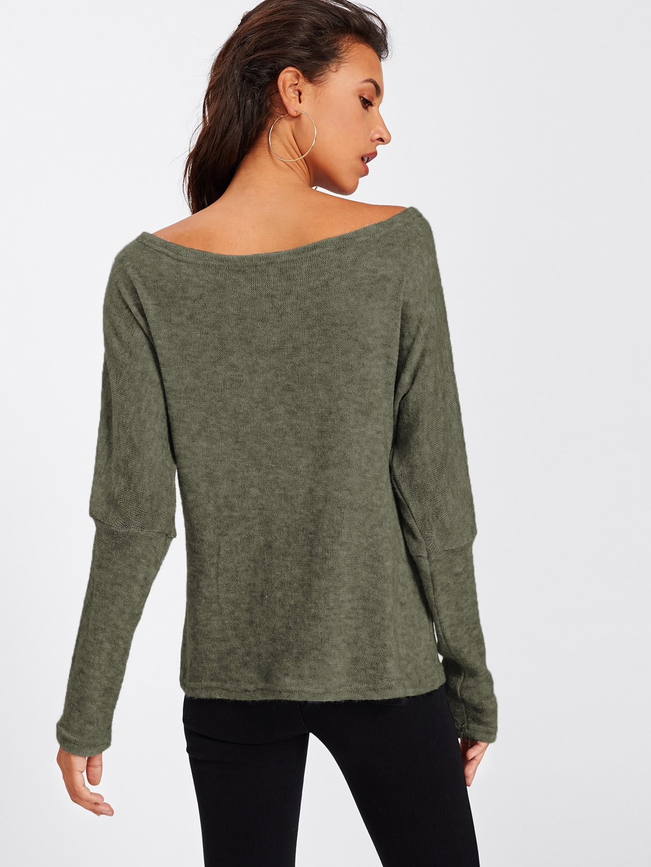 Batwing Sleeve Sweater - Tiny Town Essentials