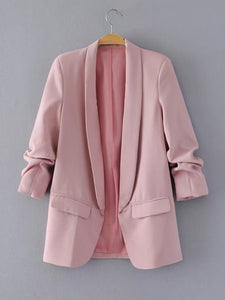 Shawl Collar Tailored Blazer - Tiny Town Essentials