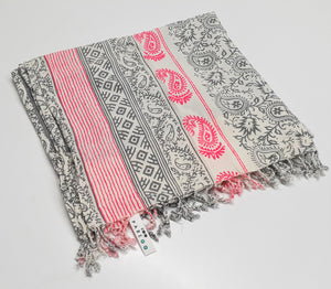 Fluo Paisley Beach Towel - Tiny Town Essentials