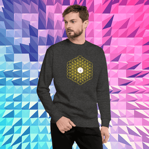 Flower of Life Sweatshirt - Tiny Town Essentials