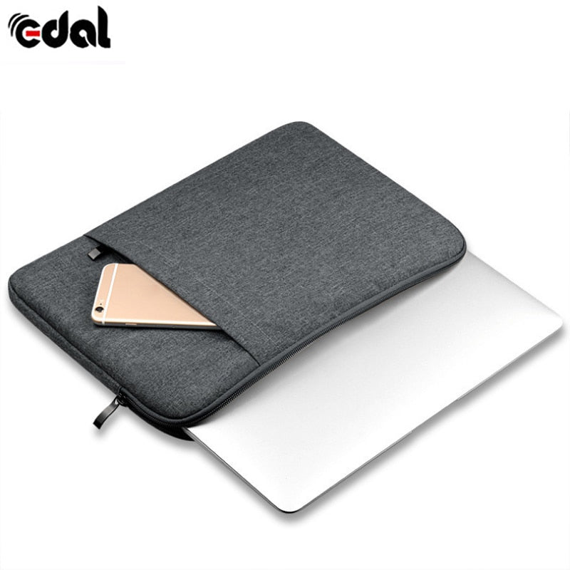 EDAL Nylon Waterproof Notebook Sleeve Case Laptop - Tiny Town Essentials