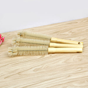 Wooden Long Handle Scrubbing Brush - Tiny Town Essentials