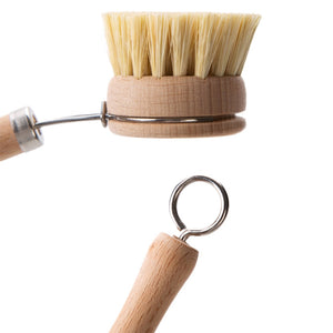 Natural Kitchen Scrub Brush - Tiny Town Essentials