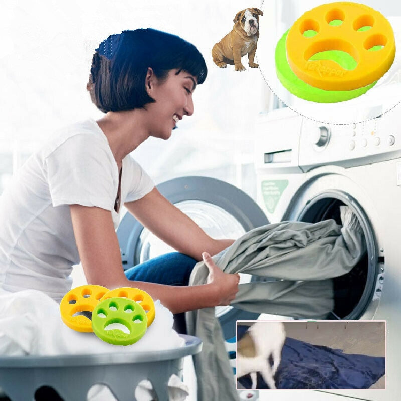 Pet Hair Remover Washing Machine Reusable Laundry Fur Catcher Cleaning - Tiny Town Essentials