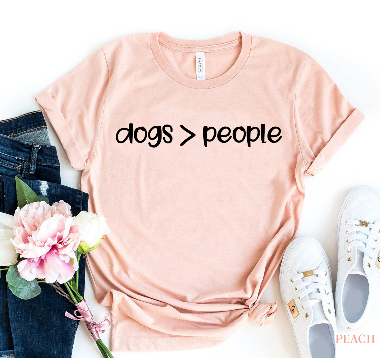 Dogs greater Than People T-shirt - Tiny Town Essentials