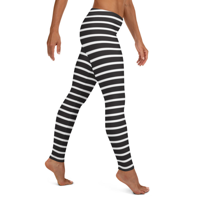Monica Striped leggings, Capris and Shorts - Tiny Town Essentials